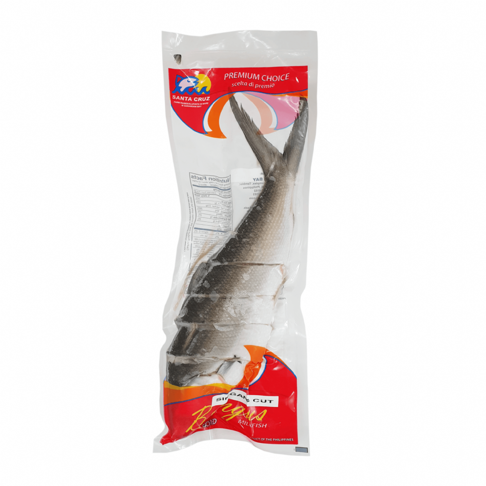 Santa Cruz Milkfish Whole Sinigang Cut 800g